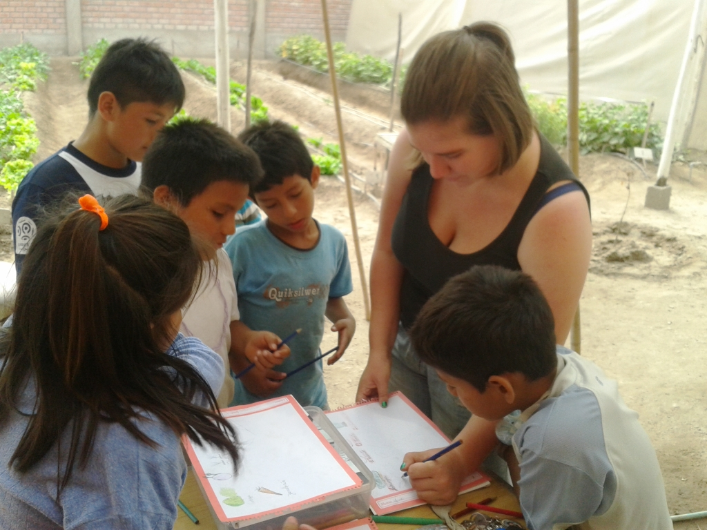The art of volunteering in Peru