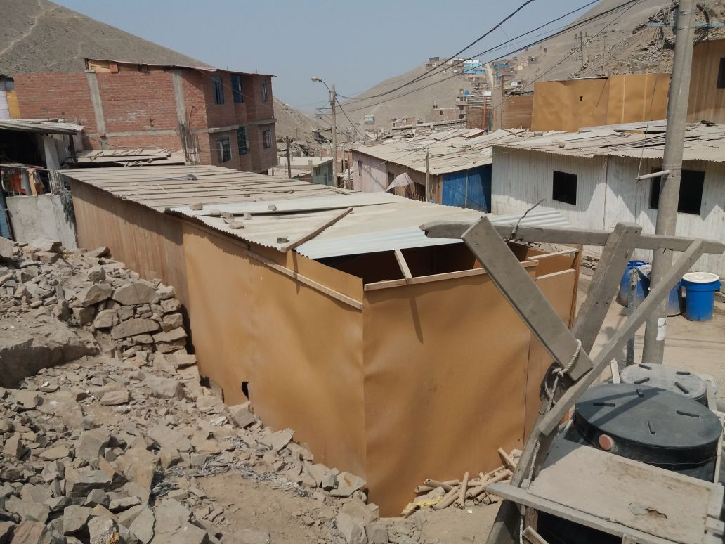 Building projects in the shanty towns