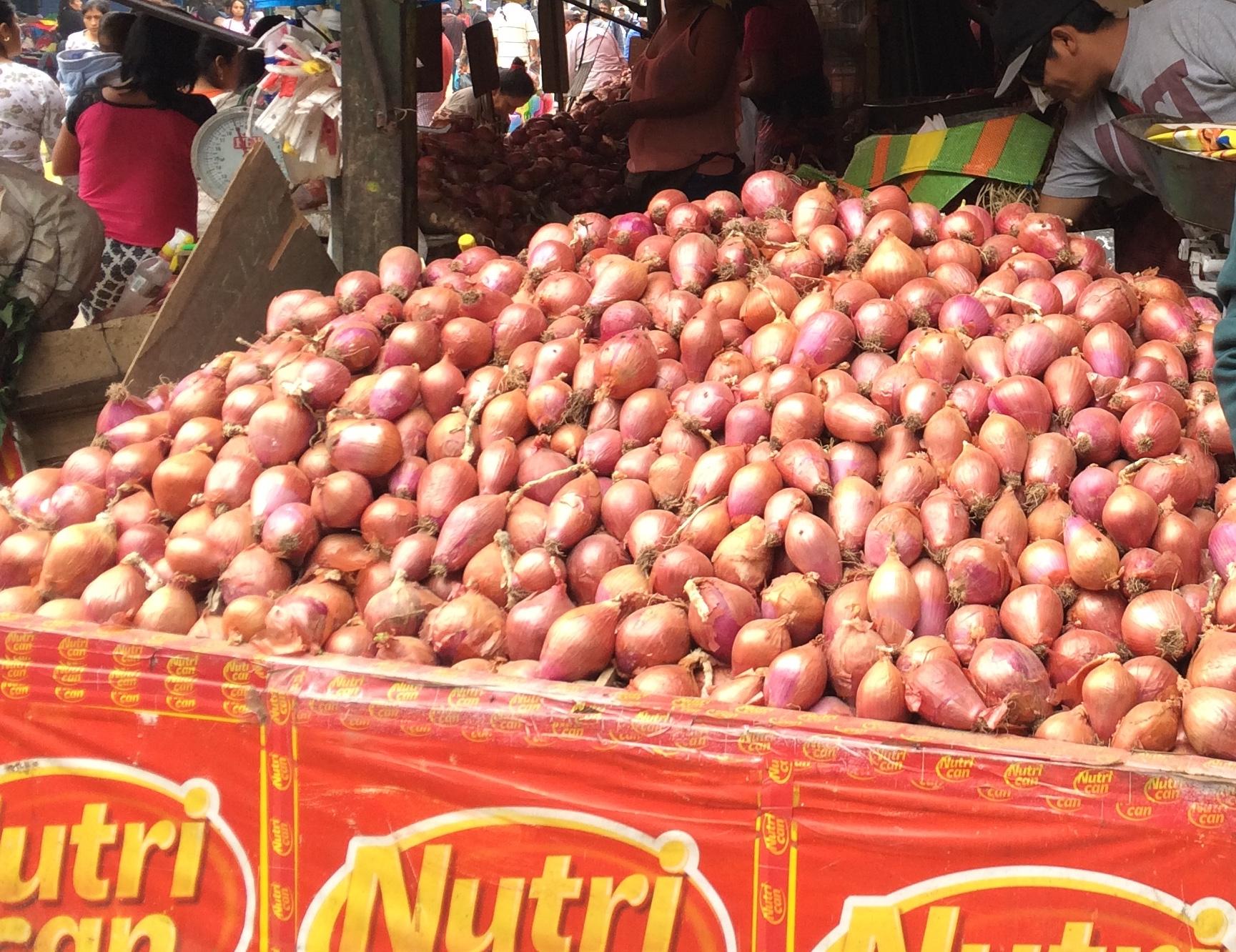 Huamantanga, our local market