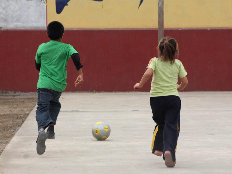 Peru, England and Football