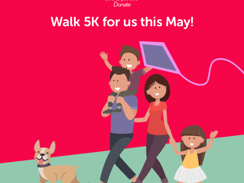 Walk 5K for us this May!